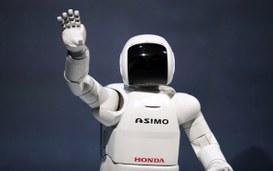"""Honda Asimo, il robot """"umano"""" del futuro."""