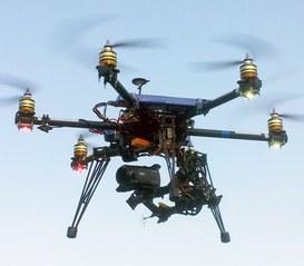 Un drone per seguire i lavori dell'Expo Milano 2015