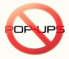 Odio le pubblicità POP-UP ma soprattutto chi le giustifica usandole!