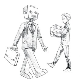 Robot alla conquista dei nostri posti di lavoro
