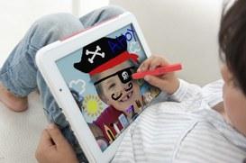 Bambini tablet-dotati