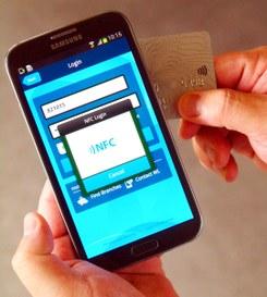 Smartphone con tecnologia Nfc sviluppata da IBM
