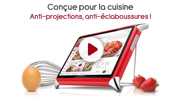 Nasce QOOQ, un tablet per la cucina