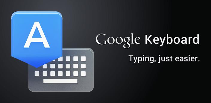 La tastiera di google