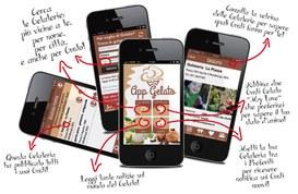 AppGelato: la prima applicazione dedicata al mondo del gelato