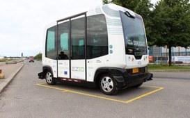 Autobus senza autista per le strade di Helsinki
