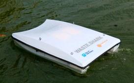 Droni d'acqua spazzini