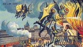 Cartoline del passato alla ricerca di futuri in technicolor!