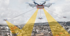 Futuri prossimi venturi: droni per la sorveglianza totale delle città