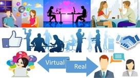 La relazione virtuale segue quella reale