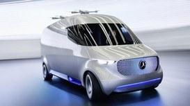 Mercedes-Benz, droni, la logistica futura