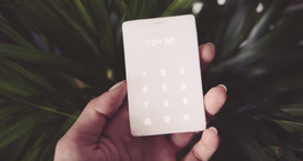 Un dispositivo mobile minimalista