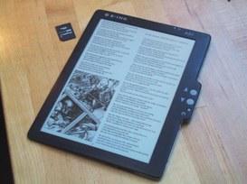 Puoi leggere con il tablet ma devi farlo come se non esistesse!