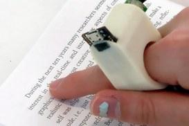 Tecnologie indossabili per ciechi che vogliono leggere
