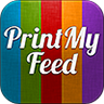 PrintMyFeed, the mobile print center