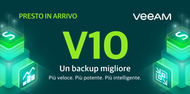 Veeam più forte nel Cloud Data Management