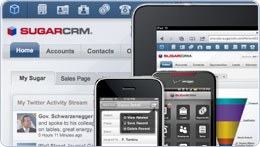 SugarCRM integrato con Amazon, iPad, Android ecc.