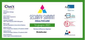 Sanità e Cybersecurity - Tavola rotonda in streaming il 16 giugno, ore 10.00
