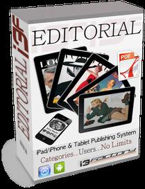 i3factory - iPhone e iPAd & tablet publishing system