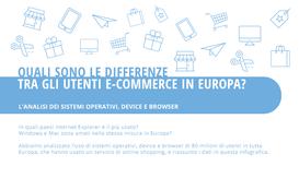 E-commerce: in Italia gli utenti si affidano a Windows e ad Android