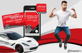 Al ristorante Steak'n Shake si può correre e vincere con tecnologie Shopping Plus