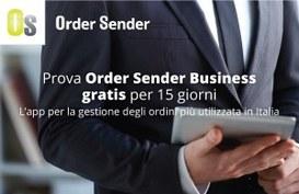 Order Sender Business: software per Agenti e rappresentanti di commercio, ora gratis per 15 giorni