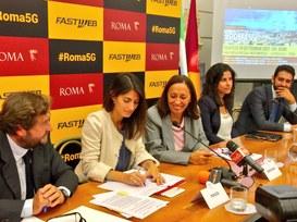 Il progetto #Roma5G entra nel vivo