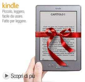 Amazon Kindle disponibile in Italia