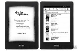 In Italia il Kindle Paperwhite di Amazon. Ottimo per regali natalizi e per la lettura.