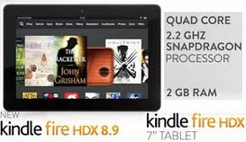 Kindle Fire HDX 7 e Kindle Fire HDX 8,9 disponibili anche in Italia