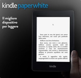 Kindle Paperwhite disponibile da ottobre