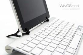 Problemi con la tastiera dell'iPad, ci pensa Daniel con WingStand