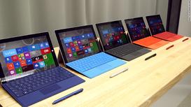 Partnership Microsoft, Dell e HP per la vendita di Surface Pro 3 in azienda