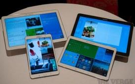 CES 2014 - Quattro nuovi tablet presentati da Samsung