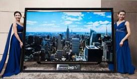 Samsung comincia il 2014 allargando lo schermo della TV
