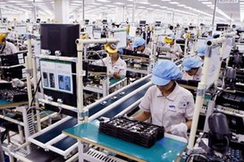 "Smartphone Samsung ""Made in Vietnam"""
