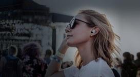 Grazie a nuovi auricolari l'ascolto di musica diventa una esperienza di realtà aumentata