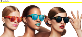 SnapChat punta sulle tecnologie indossabili con Spectacles